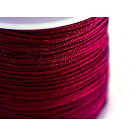 Acheter 1 m de fil de jade / fil nylon tressé 1 mm - bordeaux - 0,49€ en ligne sur La Petite Epicerie - 100% Loisirs créatifs