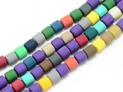 Acheter Boite de perles tubes Heishi 6 mm - multicolore - 1,99€ en ligne sur La Petite Epicerie - Loisirs créatifs
