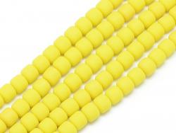 Acheter Boite de perles tubes Heishi 6 mm - jaune citron - 1,99€ en ligne sur La Petite Epicerie - Loisirs créatifs