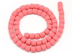 Acheter Boite de perles tubes Heishi 6 mm - rose corail - 1,99€ en ligne sur La Petite Epicerie - Loisirs créatifs