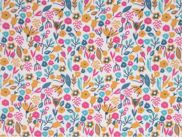 Acheter Tissu coton Oeko-Tex – Alice ocre et bégonia - 0,89€ en ligne sur La Petite Epicerie - Loisirs créatifs