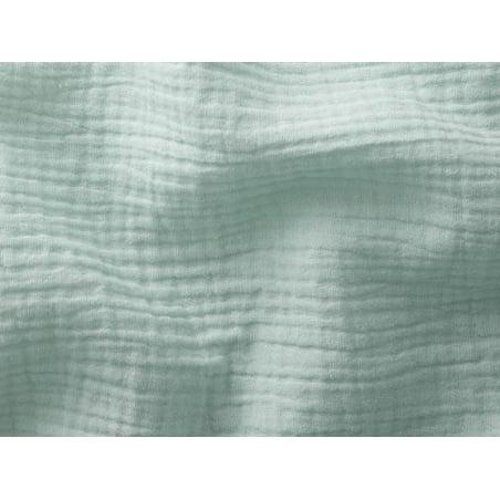 Acheter Tissu double gaze gaufrée – Menthe clair - 1,15€ en ligne sur La Petite Epicerie - Loisirs créatifs