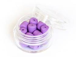 Acheter Boite de perles tubes Heishi 6 mm - violet lilas - 1,99€ en ligne sur La Petite Epicerie - Loisirs créatifs
