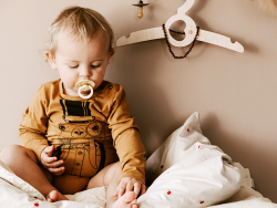 Acheter Tétine bibs - Taille 6-18 mois - Gris nuage - 3,99€ en ligne sur La Petite Epicerie - Loisirs créatifs