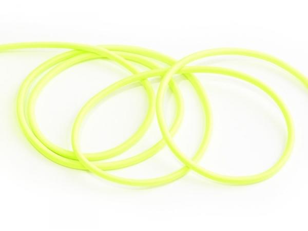 1 m de cordon élastique 3 mm - Vert fluo