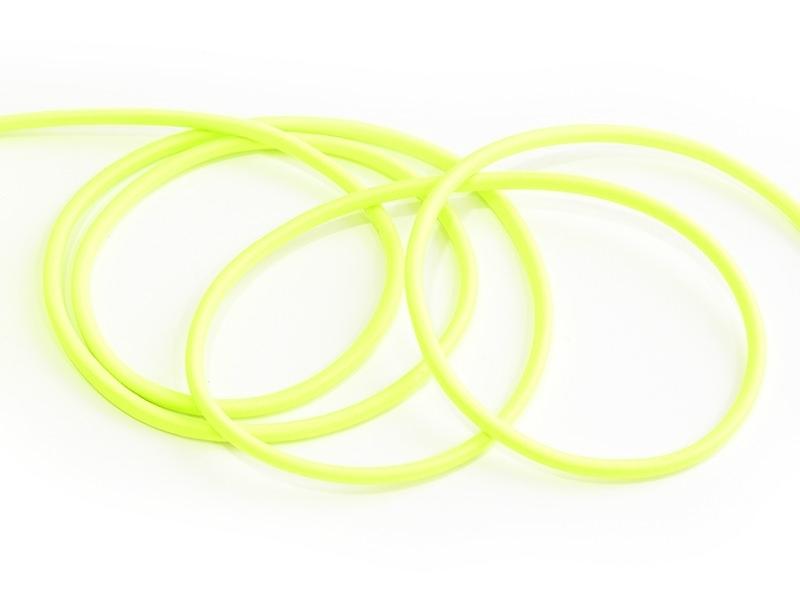 1 m of elastic cord, 3 mm - neon green