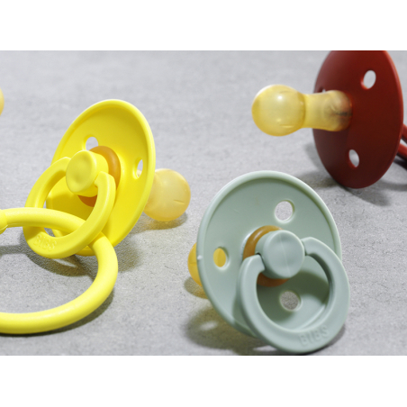 Acheter Tétine bibs - Taille 6-18 mois - Rose corail - 3,99€ en ligne sur La Petite Epicerie - Loisirs créatifs