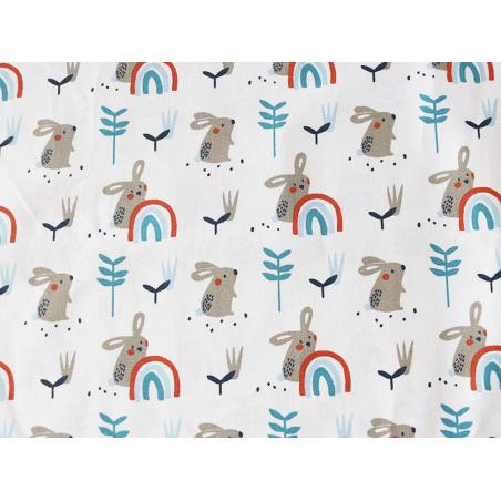 Acheter Tissu coton Oeko-Tex – Lapins - 0,89€ en ligne sur La Petite Epicerie - Loisirs créatifs