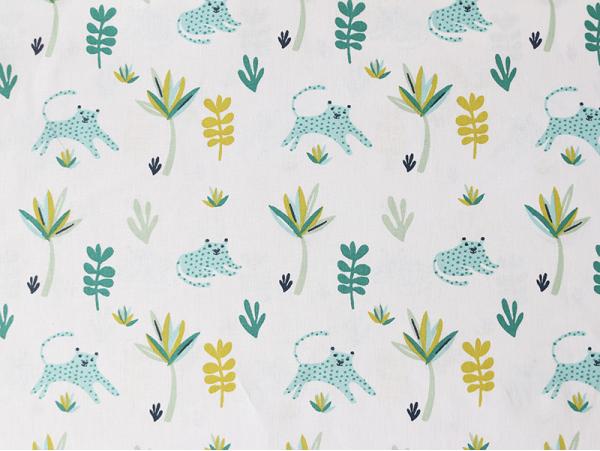 Acheter Tissu coton Oeko-Tex – Tanako blanc - 0,89€ en ligne sur La Petite Epicerie - Loisirs créatifs