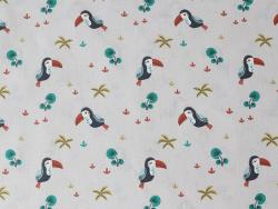 Acheter Tissu coton Oeko-Tex – Toucans - 0,89€ en ligne sur La Petite Epicerie - Loisirs créatifs