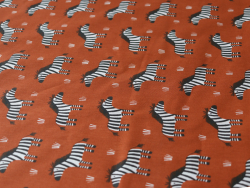 Acheter Tissu coton Oeko-Tex – Zèbres - 0,89€ en ligne sur La Petite Epicerie - Loisirs créatifs