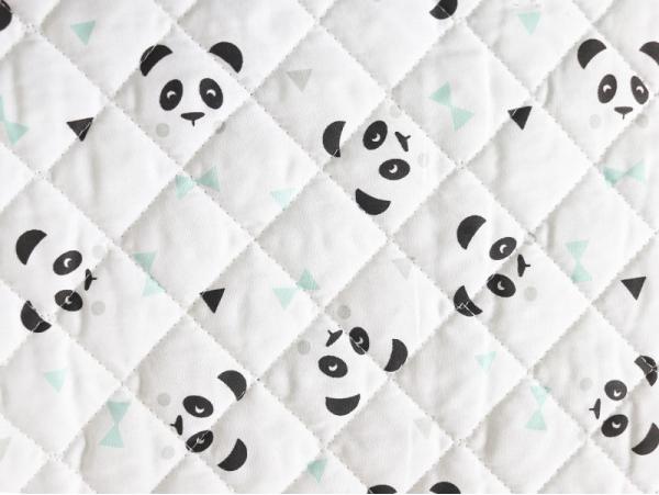 Acheter Tissu matelassé – Maony / Menthe - 1,90€ en ligne sur La Petite Epicerie - Loisirs créatifs