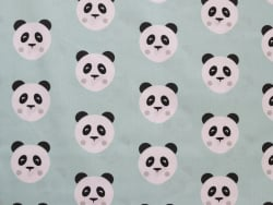 Acheter Tissu coton Oeko-Tex – Maotey menthe et noir - 0,89€ en ligne sur La Petite Epicerie - Loisirs créatifs