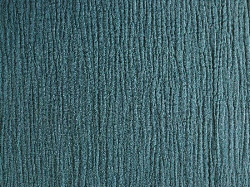 Acheter Tissu double gaze gaufrée – Sapin - 1,15€ en ligne sur La Petite Epicerie - Loisirs créatifs