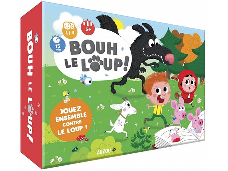 Acheter P'Tit Jeu - Bouh Le Loup ! - 11,95€ en ligne sur La Petite Epicerie - Loisirs créatifs