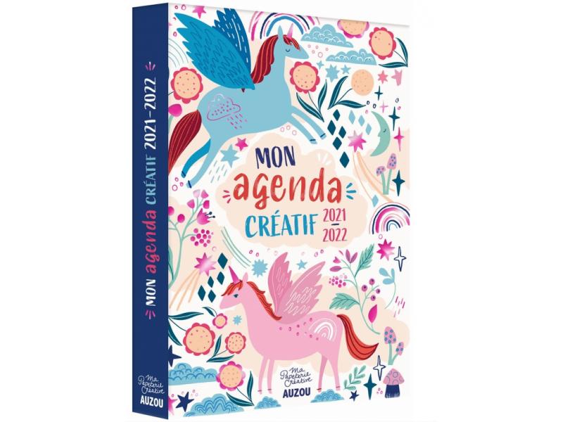 Acheter Agenda 2021-22 - Agenda créatif à colorier - 9,95€ en ligne sur La Petite Epicerie - Loisirs créatifs