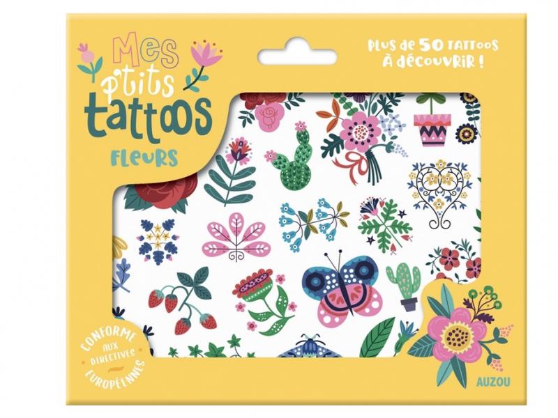 Acheter Mes P'Tits Tattoos - Fleurs - 4,95€ en ligne sur La Petite Epicerie - Loisirs créatifs