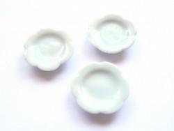 Assiette forme de fleur - 2 cm