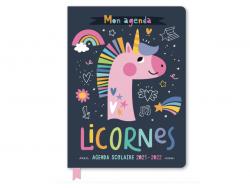 Acheter Agenda Scolaire 2021-2022 - Licornes - 9,95€ en ligne sur La Petite Epicerie - Loisirs créatifs