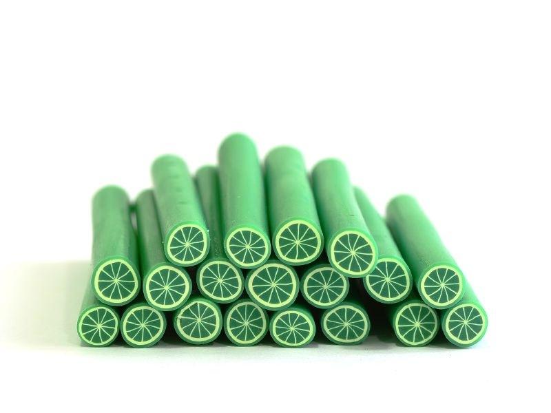 Cane citron vert en pâte fimo - modelage  - 1