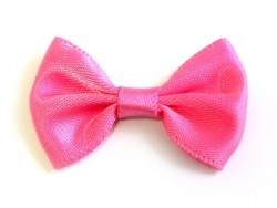 Pink bow - 3.5 cm