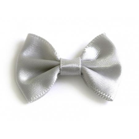 Grey bow - 3.5 cm