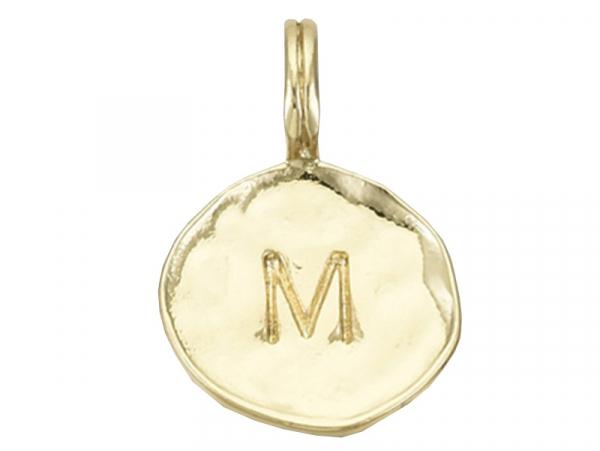 Acheter Breloque ronde dorée à l'or fin 18K – M - 1,49€ en ligne sur La Petite Epicerie - Loisirs créatifs
