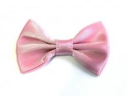 Dusky pink bow - 3.5 cm