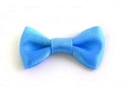 Blue bow - 3 cm