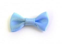 Sky-blue bow - 3 cm