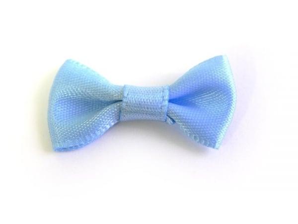 Noeud bleu ciel - 3 cm  - 1