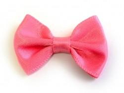 Pfirsich-rosafarbene Schleife - 3,5 cm