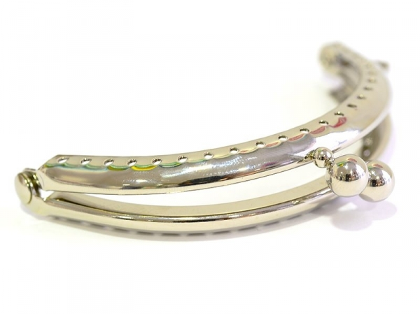 Snap clasp - silver-coloured