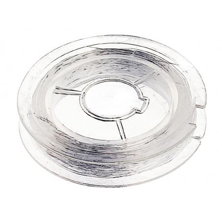 Acheter 10 m de fil élastique 0,4mm pour bijoux - transparent - éco - 2,99€ en ligne sur La Petite Epicerie - Loisirs créatifs
