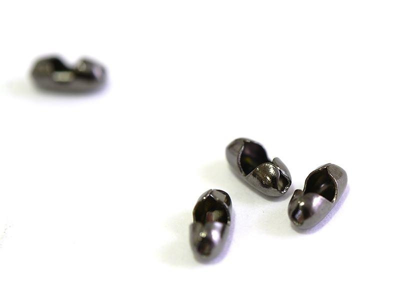 Acheter 10 fermoirs pour chaine bille 1,5mm noir métallisé - Taille S - 1,59€ en ligne sur La Petite Epicerie - Loisirs créa...