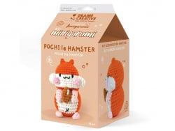 Acheter Kit mini amigurumi - Hamster 10cm - 9,99€ en ligne sur La Petite Epicerie - Loisirs créatifs