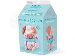 Acheter Kit mini amigurumi - Cochon 10cm - 9,99€ en ligne sur La Petite Epicerie - Loisirs créatifs
