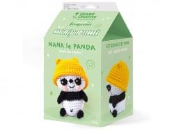 Acheter Kit mini amigurumi - Panda 10 cm - 9,99€ en ligne sur La Petite Epicerie - Loisirs créatifs