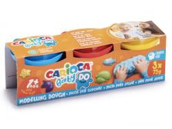 Acheter 3 pots de pâte à modeler pour bébés et enfants - babydo - 4,49€ en ligne sur La Petite Epicerie - Loisirs créatifs