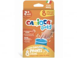 Acheter Set de 8 peintures à doigts pour enfants dès 2 ans - 8 x 50 ml - 14,99€ en ligne sur La Petite Epicerie - Loisirs cr...
