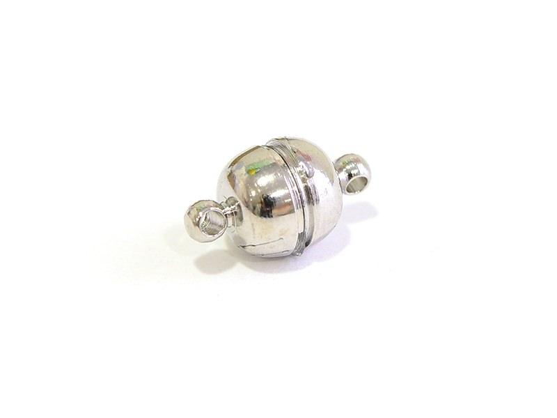 Acheter Fermoir aimanté rond couleur argent - 2,29€ en ligne sur La Petite Epicerie - Loisirs créatifs