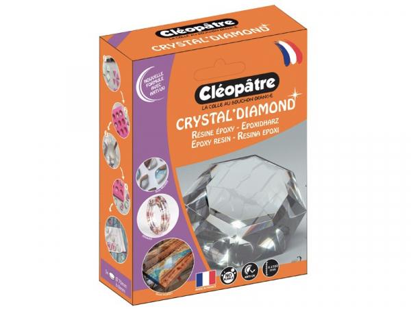 """Acheter Résine d'inclusion """"Crystal'Diamond"""" 720 mL - transparent - 31,99€ en ligne sur La Petite Epicerie - Loisirs créatifs"""
