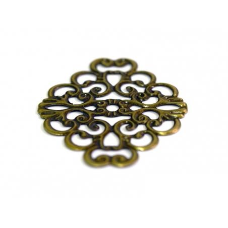 Acheter Estampe losange souple - bronze - 0,19€ en ligne sur La Petite Epicerie - Loisirs créatifs
