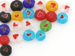 20 perles millefiori en...