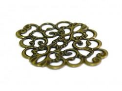 Estampe losange souple - bronze