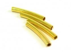 Metallröhre, 15 mm x 2 mm - goldfarben