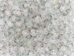 Acheter Pot perles lettres – Paillettes argent - 5,99€ en ligne sur La Petite Epicerie - Loisirs créatifs