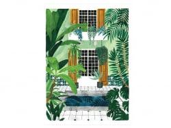 Acheter Affiche aquarelle – Riad - 18 x 24 cm – ATWS - 11,99€ en ligne sur La Petite Epicerie - Loisirs créatifs
