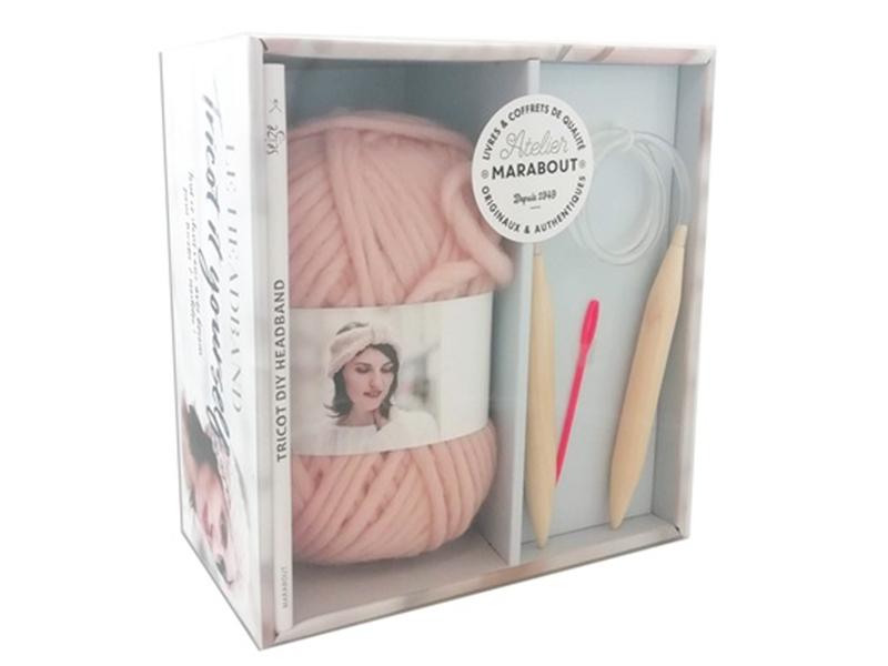 Acheter Coffret Tricot it yourself - Le headband - 25,00€ en ligne sur La Petite Epicerie - Loisirs créatifs