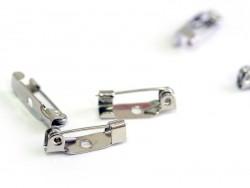 Acheter Support de broche argenté foncé - 1,6 cm - 0,39€ en ligne sur La Petite Epicerie - 100% Loisirs créatifs